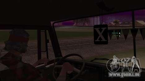 KAMAZ 54112 für GTA San Andreas Unteransicht