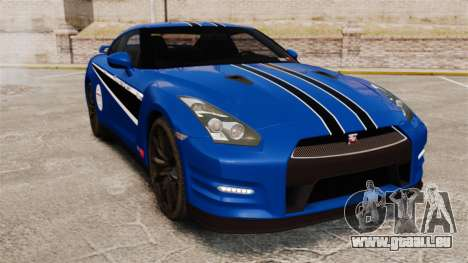 Nissan GT-R 2012 Black Edition AMS Alpha 12 für GTA 4