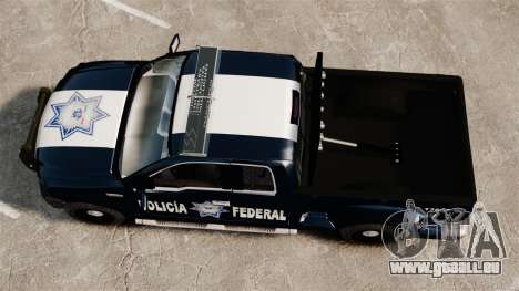 Ford F-150 De La Policia Federal [ELS & EPM] v1 für GTA 4 rechte Ansicht