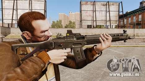 Fusil d'assaut SIG 551 pour GTA 4