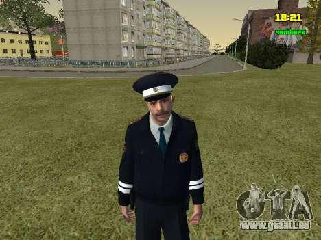 Russisch TRAFFIC POLICE Officer für GTA San Andreas