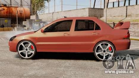 Mitsubishi Lancer Evolution IX 1.6 für GTA 4 linke Ansicht