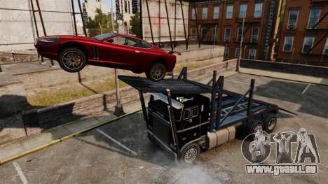 Emballeur-tremplin pour GTA 4 Vue arrière