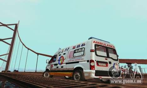 Renault Master PCSO AMBULANCE für GTA San Andreas rechten Ansicht