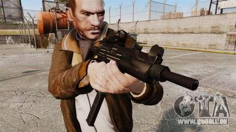 Taktische Uzi-v3 für GTA 4 dritte Screenshot