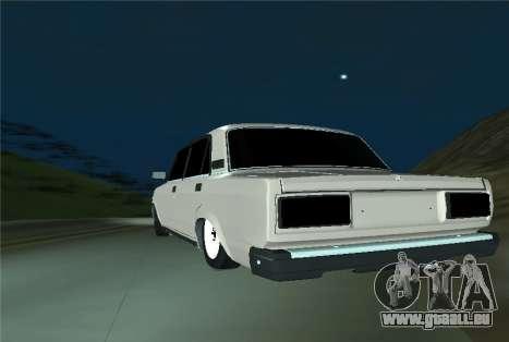VAZ 21053 pour GTA San Andreas sur la vue arrière gauche