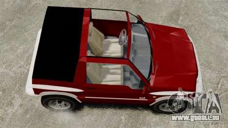 Suzuki Vitara JLX für GTA 4 rechte Ansicht
