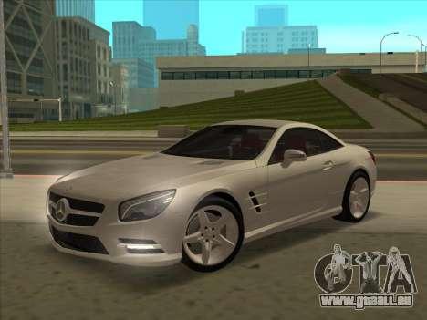 Mercedes-Benz SL500 2013 (ImVehFt v2.02) für GTA San Andreas Unteransicht