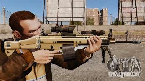 Angriff Maschine FN SCAR-L für GTA 4