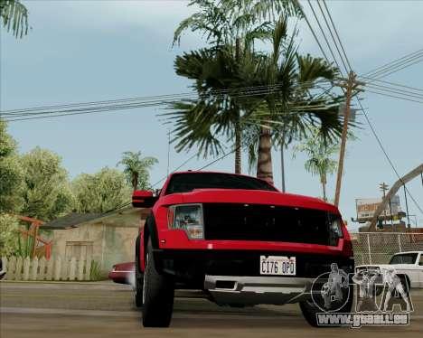 Ford F-150 SVT Raptor 2011 pour GTA San Andreas
