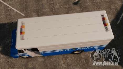 Chevrolet Step-Van 1985 NYPD pour GTA 4 est un droit
