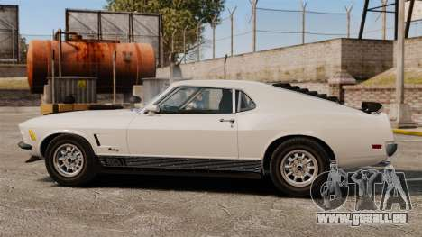 Ford Mustang Mach 1 Twister Special pour GTA 4 est une gauche
