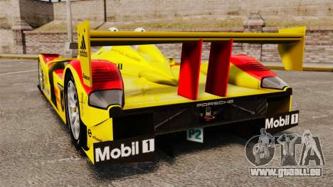 Porsche RS Spyder Evo pour GTA 4 Vue arrière de la gauche