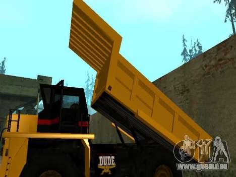 Nouveau Dumper pour GTA San Andreas vue de côté