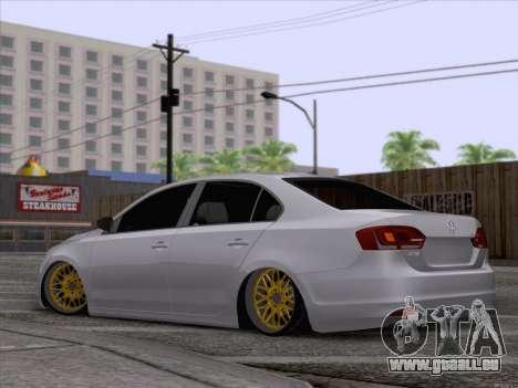 Volkswagen Jetta Rasta pour GTA San Andreas laissé vue