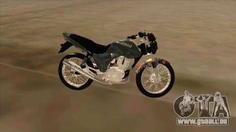 Yamaha YBR pour GTA San Andreas laissé vue