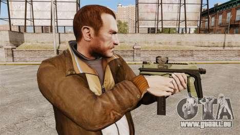 MP9 Maschinenpistole taktische v2 für GTA 4