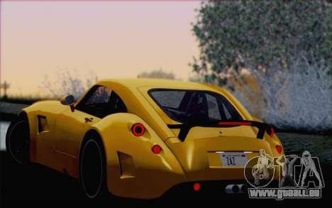 Wiesmann GT MF5 2010 für GTA San Andreas Räder