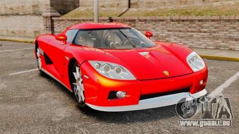 Koenigsegg CCX pour GTA 4