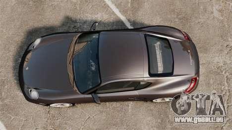 Porsche Cayman S pour GTA 4 est un droit