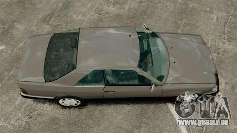 Mercedes-Benz W124 Coupe pour GTA 4 est un droit