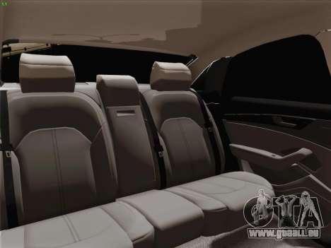 Audi A8 Limousine pour GTA San Andreas roue