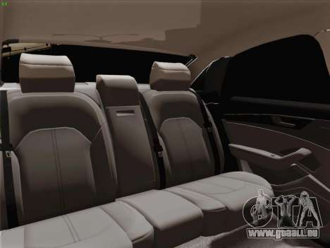 Audi A8 Limousine für GTA San Andreas Räder
