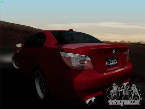 BMW M5 Hamann pour GTA San Andreas laissé vue