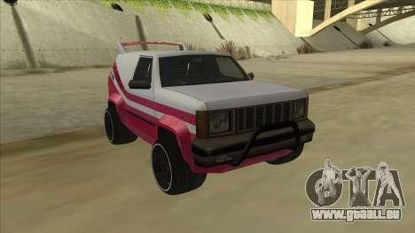 Sandking DUB pour GTA San Andreas laissé vue