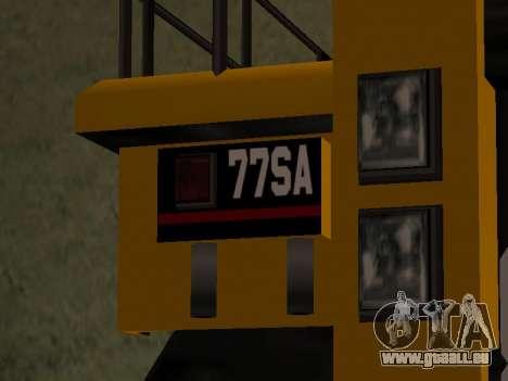 Nouveau Dumper pour GTA San Andreas sur la vue arrière gauche