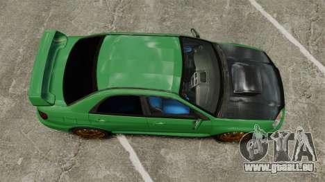 Subaru Impreza 2005 DTD Tuned pour GTA 4 est un droit