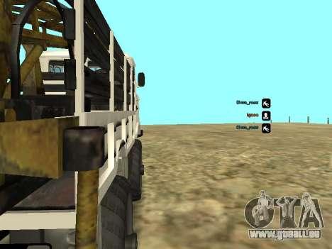 Forage de gaz 66 pour GTA San Andreas vue arrière