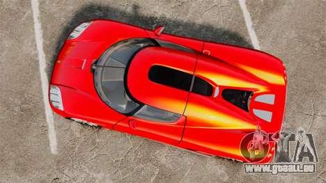 Koenigsegg CCX pour GTA 4 est un droit