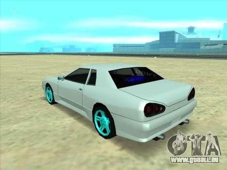 Drift elegy by KaMuKaD3e für GTA San Andreas zurück linke Ansicht