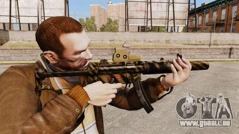 MP5SD mitraillette v4 pour GTA 4