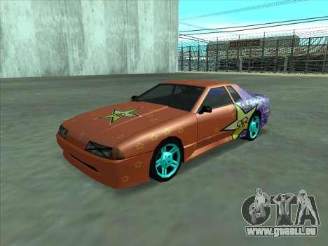 Drift elegy by KaMuKaD3e für GTA San Andreas obere Ansicht