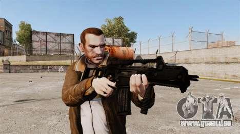 HCG36C für GTA 4 dritte Screenshot