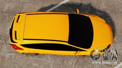 Ford Focus ST 2013 für GTA 4 rechte Ansicht