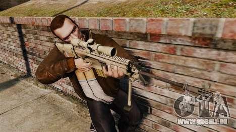 Mk17 SCAR-H für GTA 4 dritte Screenshot