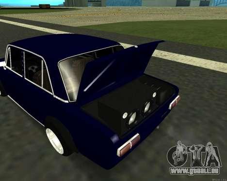 VAZ 2101 bébé v3 pour GTA San Andreas vue intérieure