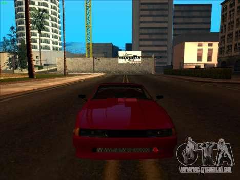 Elegy pickup by KaMuKaD3e pour GTA San Andreas vue intérieure