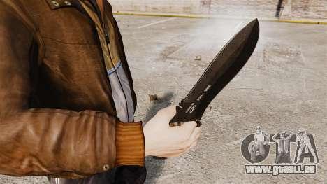 Couteau tactique v2 pour GTA 4 secondes d'écran