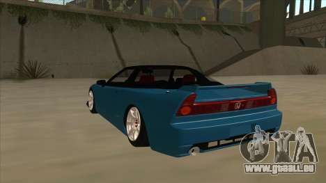 Honda NSX für GTA San Andreas Rückansicht