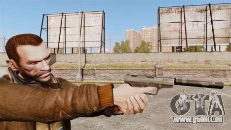 Walther P99 pistolet semi-automatique v2 pour GTA 4