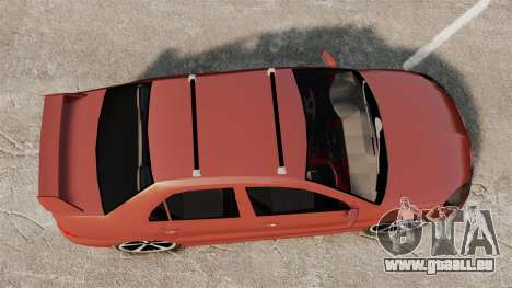 Mitsubishi Lancer Evolution IX 1.6 für GTA 4 rechte Ansicht