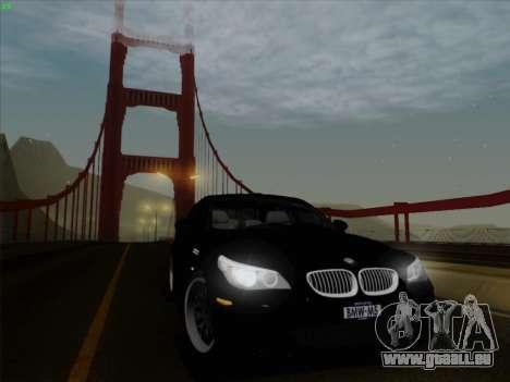 BMW M5 Hamann pour GTA San Andreas vue arrière