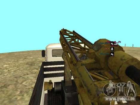 66 Gas Bohren für GTA San Andreas Unteransicht