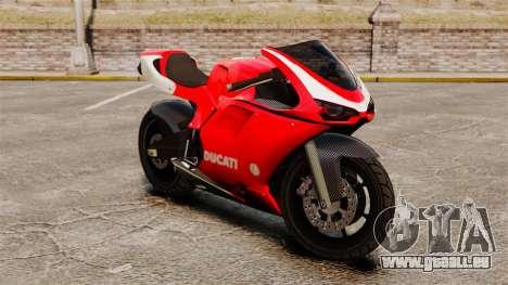 Ducati 1098 pour GTA 4 est une gauche