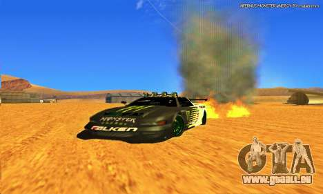 Infernus Rally Moster Energy 2012 pour GTA San Andreas