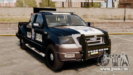 Ford F-150 De La Policia Federal [ELS & EPM] v1 pour GTA 4